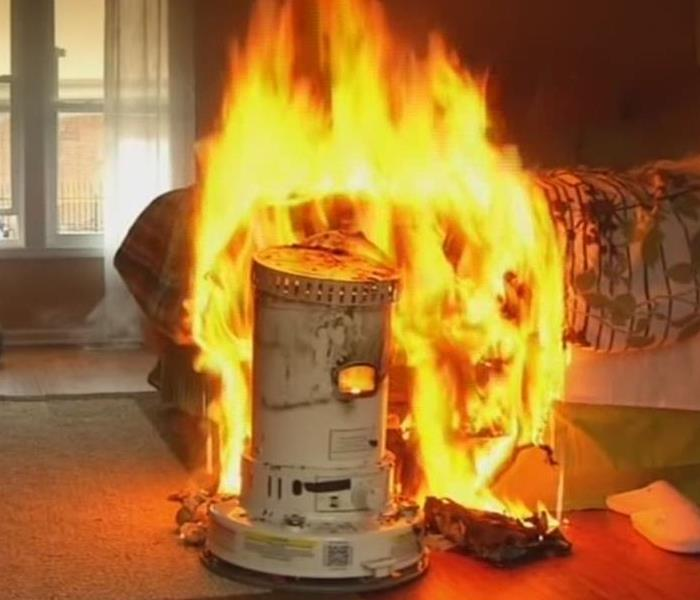 Fire Damage Important Safety Tips For Using A Space Heater!